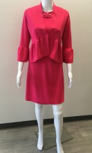 PapillonBlanc Dress w/Jacket XS Pink