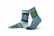 Solmate Adult Crew Socks S Ocean