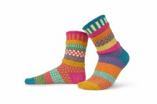 Solmate Adult Crew Socks S Saffron