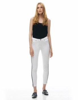 Yoga Jeans 1798WH-R27 Rachel Skinny Classic Rise 29 White