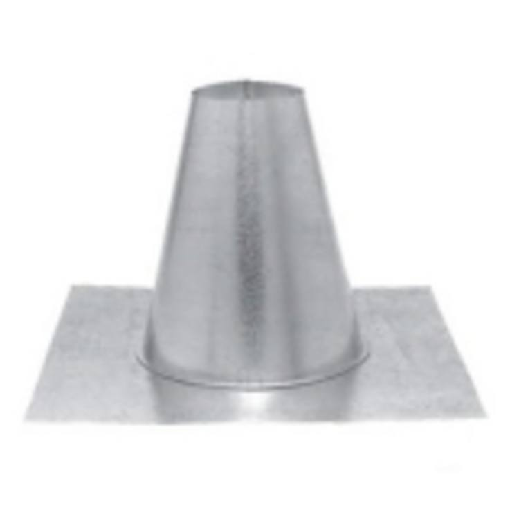 Chimney/Stove Pipe PV Roof Flash Tall Cone 3''
