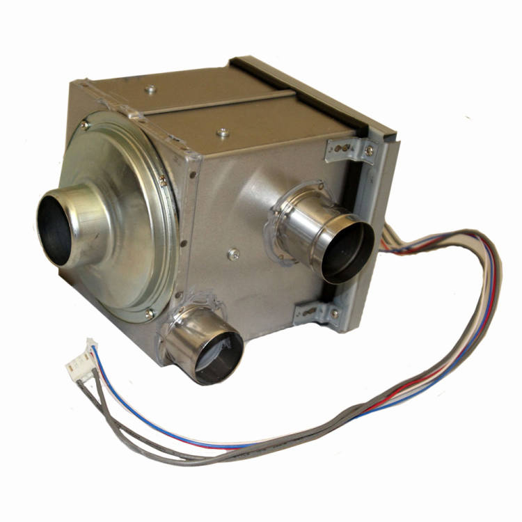 Blower Motor Assembly w/Case, LASER 560