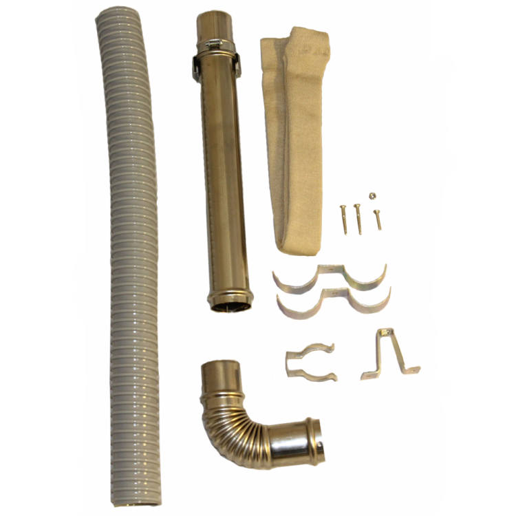 """(S) Exhaust Ext. Pipe Set 12-5/8"""" to 19-5/8"""""""
