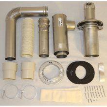 Flue Pipe Direct Vent Installation Kit
