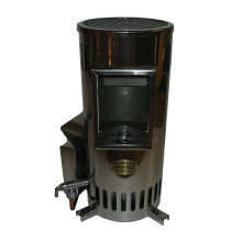 NORDIC NRU400 Rustic Stainless Convector w/Window, 40,000 BTU