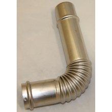 Exhaust Bent Joint 4''F x 6.3''M, LASER 530, OM-22