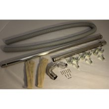 """(L) Exhaust Extension  Pipe Set 61-3/4"""" to 78-3/4"""""""