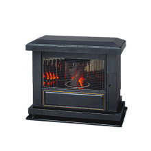 TOYOSTOVE Laser 60AT Fireplace Antique Black Finish