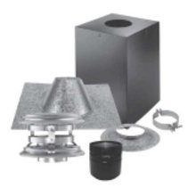 """Stove Pipe PV Vertical Cathedral Kit, 4"""""""
