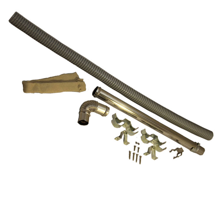 """(M) Exhaust Ext. Pipe Set  22-1/2"""" to 39-3/8"""""""