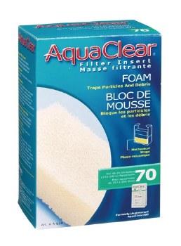 Aqua Clear Foam Filter Insert 40-70 Gallon