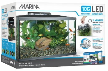 Marina LED Aquarium Kit 10 Gal