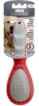Dog Bristle Pin Combo Brush Large