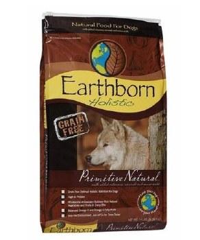 Earthborn Holistic Primitive Natural Grain Free Dry Dog Food 28lb