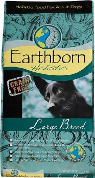 Earthborn Holistic Large Breed Grain Free Natural Dry Dog Food 28lb