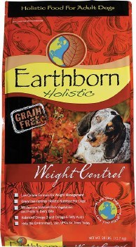 Earthborn Holistic Weight Control Grain Free Natural Dry Dog Food 28lb