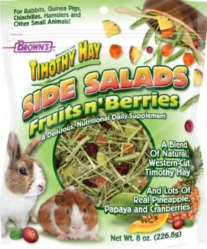 Tropical Carnival Side Salad Fruit n' Berries Dry Adult Wester Timothy Hay