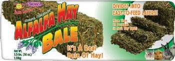 Brown's Falfa Cravins Alfalfa Hay Bale Small Animal Food, 16 Oz