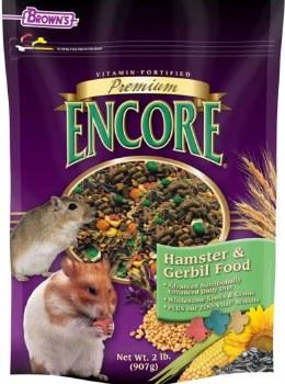 Browns Premium Encore Hambster and Gerbil Food 2lb