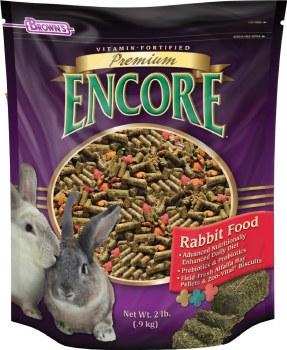 Browns Premium Encore Rabbit Food 2lbs
