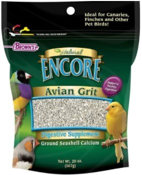 Browns Avian Grit Plus Digestive Aid For Canaries And Finiches 20oz