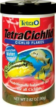 Tetra Cichlid Flakes 2.82 oz