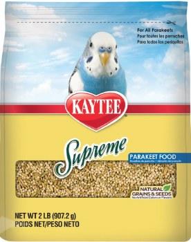 Kaytee Natural Supreme Parakeet Food 2lb Bag