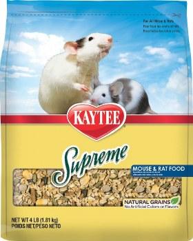 Supreme Mouse Rat Food 4lb