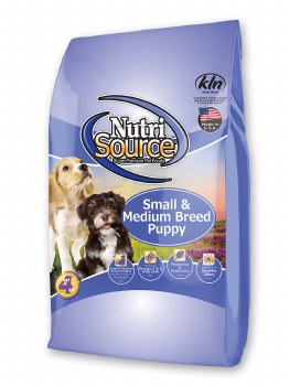 Nutrisource Small Medium Breed Puppy Chicken and Rice Formula Dry Dog Food 30lb