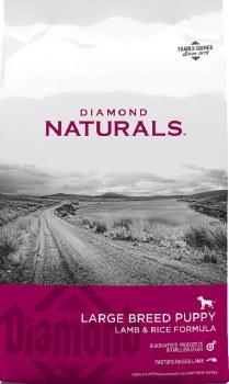 Diamond Naturals Large Breed Puppy Formula Dry Dog Food 6lb