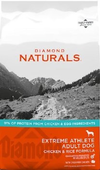 Diamond Naturals Extreme Athlete Formula Dry Dog Food 40lb