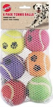 Tennis Ball Value 6 Pack