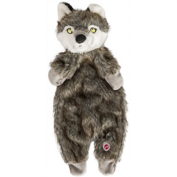 Furzz Wolf Plush 13.5 In Brown