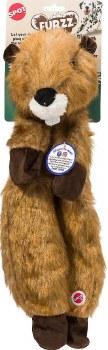 Furzz Beaver Plush 20 In Brown
