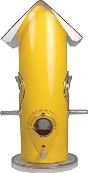 Metal Tube Feeder .75lb Yellow