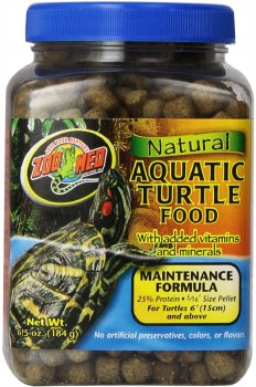 Turtle Natural Maint Food 6.5z