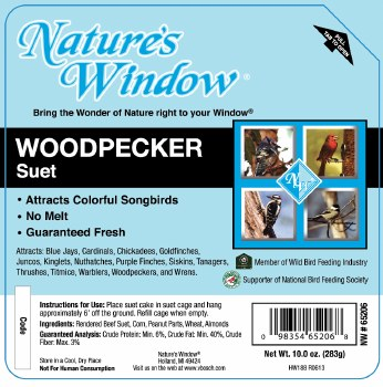 Woodpecker Suet 10oz