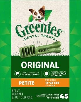 Greenies Petite 15-25lb 27oz