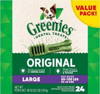 Greenies Large Box 36oz 24ct