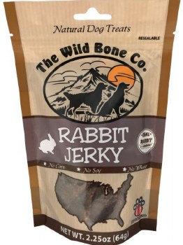 Jerky Natural Rabbit 2.25oz