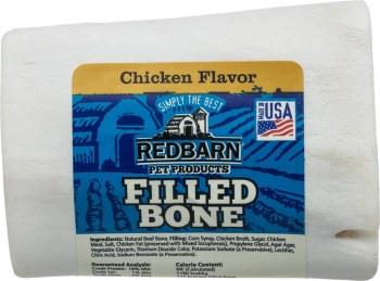 Chicken Filled Marrow Bone 3In