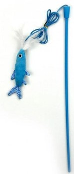All For Paws Modern Cat N Fish Wand Cat Toy