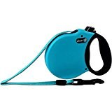 Alcott Adventure Retractable Leash Large Aqua Upto 110lb