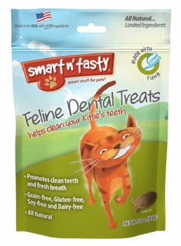 Smart N' Tasty Grain Free Tuna Dental Treats 3oz