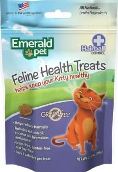 Smart N' Tasty Grain Free Hairball Treats 3oz