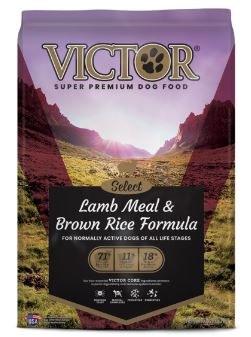 Victor Select Lamb Meal & Brown Rice Dry Dog Food 15lb