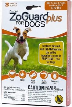 Zoguard Plus Dogs 4-22 lbs