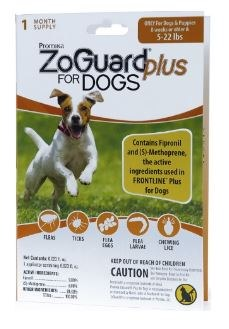 Zoguard+ Single Dogs 5-22lbs