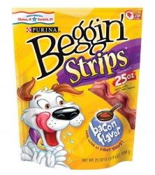 Purina Beggin Strip Bcn 4/25oz