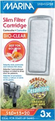 Marina Bio-Clear Cart Slim 3pk
